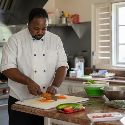 Haystack-Rodney-in-kitchen